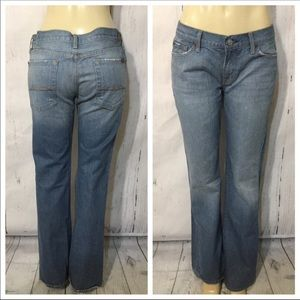 7 For All Mankind Flare Leg Jeans Size 32 X 33